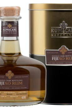 Fiji XO rum single cask rum & cane merchants south pacific distillery
