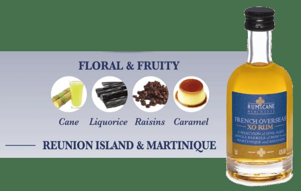 French Overseas XO rum & cane merchants Martinique reunion agricole