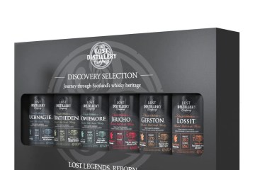 Discovery pack 6x5cl Lost Distillery Company mini miniature