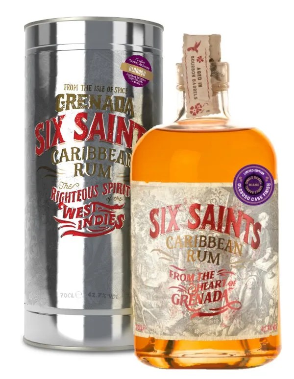 Six Saints Olorosso cask finish in gift tin