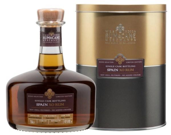 Spain XO rum single cask rum & cane merchants