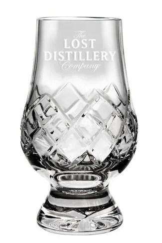 Lost Distillery Glencairn Cut Crystal Glass