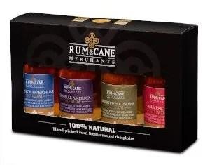Rum & Cane merchants mini pack regional rums