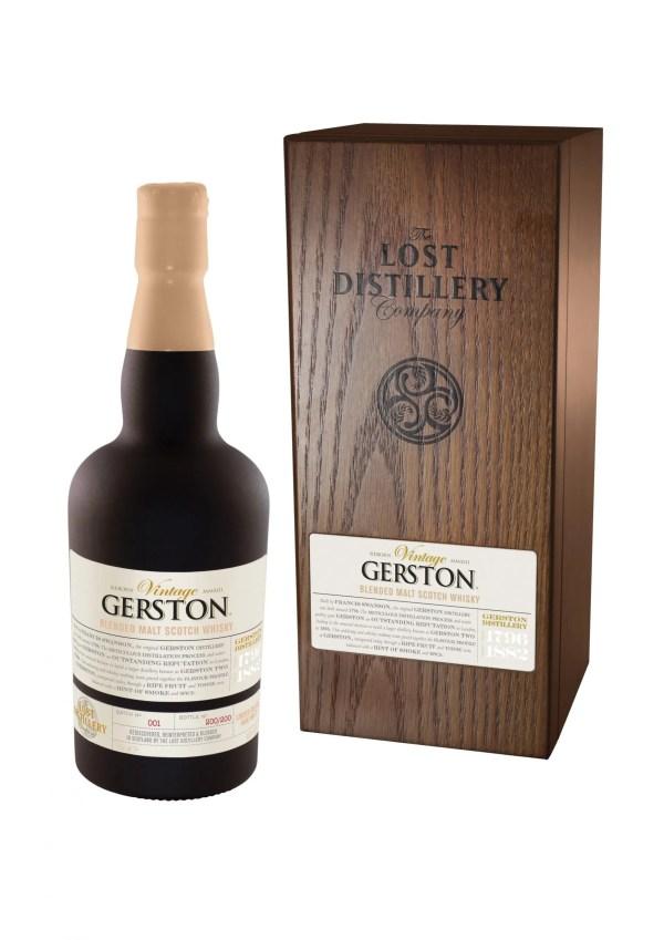 Gerston vintage selection highland whisky malt lost distillery