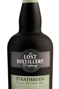 Stratheden Deluxe Bottle lowland whisky malt lost distillery