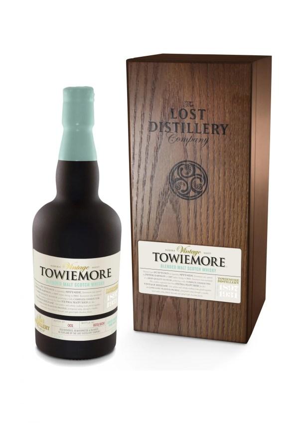 Towiemore vintage selection speyside whisky malt lost distillery