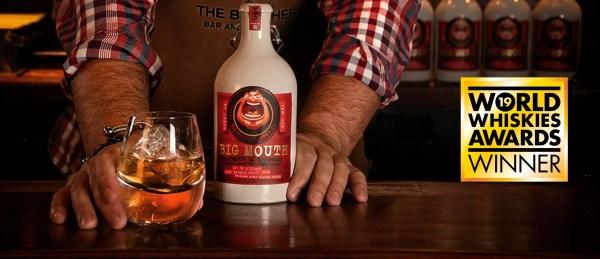 Big Mouth Whisky world whisky awards winner gold medal