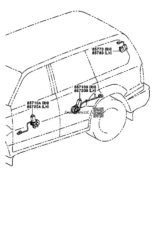 Electrical 98-02 : CruiserParts.net, Toyota Landcruiser Parts