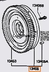 13B-T 13BT Engine Parts : CruiserParts.net, Toyota
