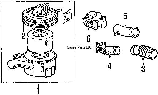 Engine / Fuel FJ62 : CruiserParts.net, Toyota Landcruiser