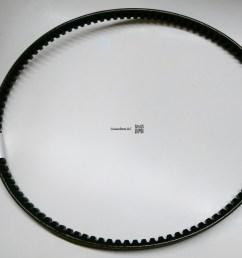 fan and alternator v belt set for 3b engines [ 3439 x 2681 Pixel ]