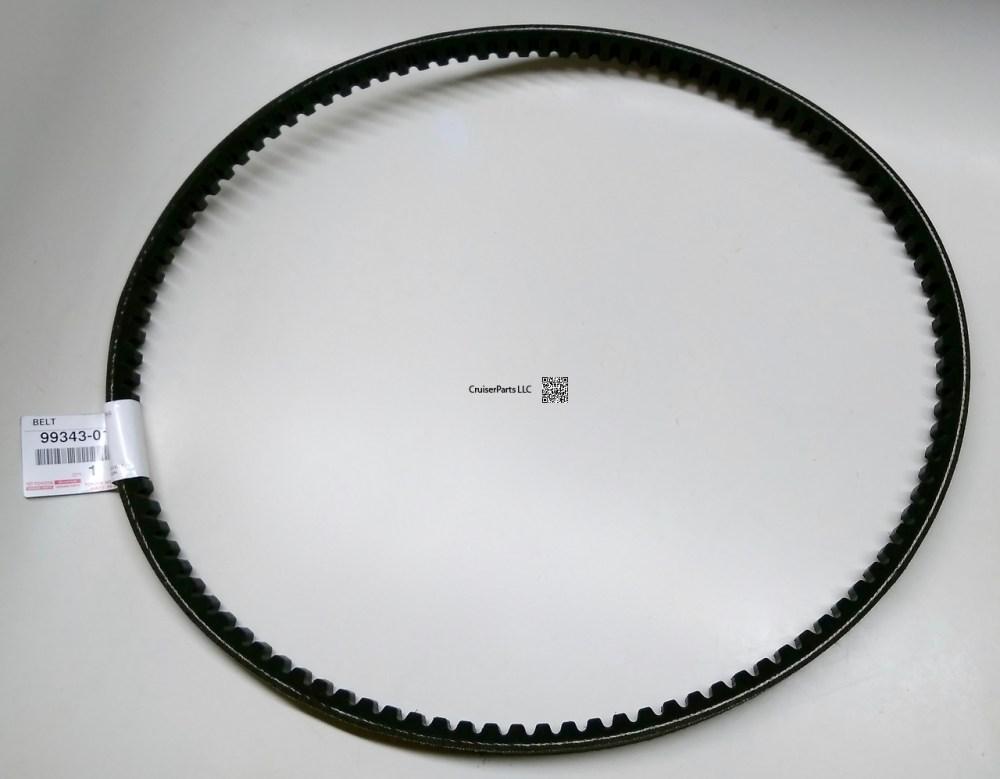 medium resolution of fan and alternator v belt set for 3b engines