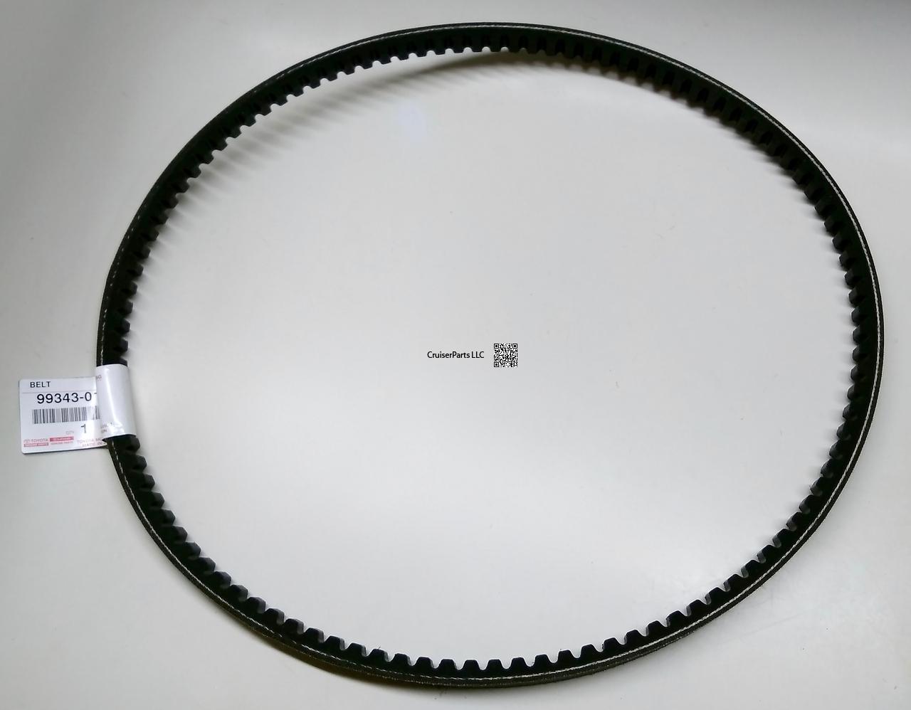 hight resolution of fan and alternator v belt set for 3b engines