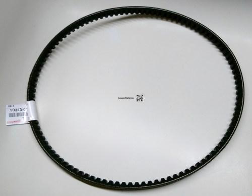small resolution of fan and alternator v belt set for 3b engines