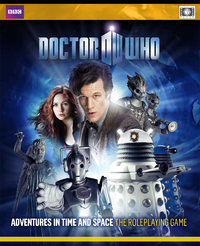 Doctor Who RPG cover