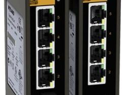 OPAL5-E-1M4T-LV-LV – 1P FO MM + 4P 10/100BaseTX