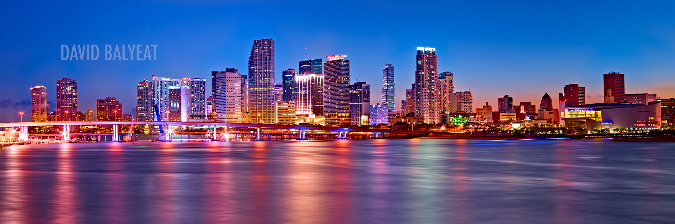 Miami Skyline  David Balyeat Photography Store