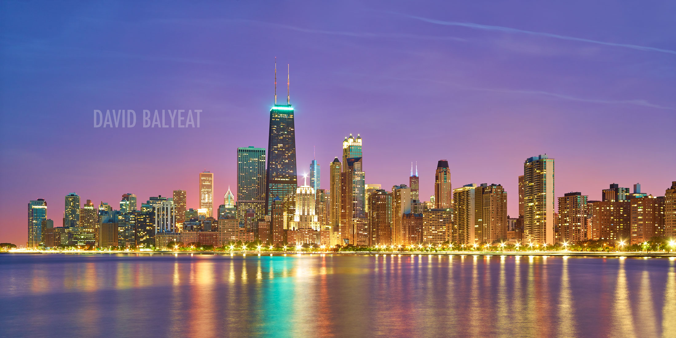 Fall Scenes Wallpaper North Chicago Skyline David Balyeat Photography Store