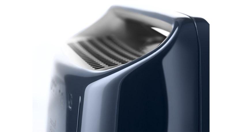delonghi dehumidifier dex216f close up