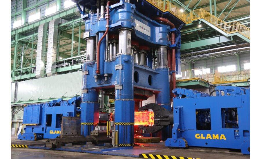 Hitachi Metals устанавливает ковочный пресс с открытым штампом