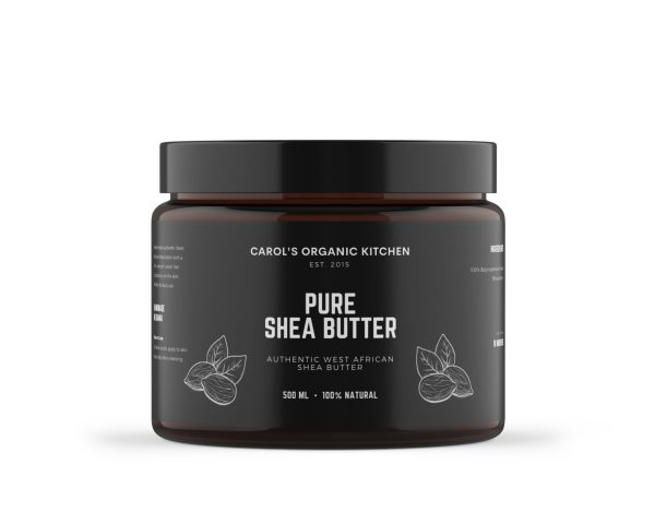 Organic Whipped Shea Butter - 500 milliliters