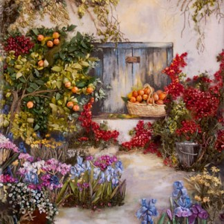 Oranges-and-Bougainvillea complete kit