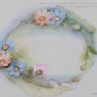 Ring of daisies kit from little flowers book