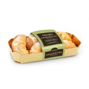 Aragostine Italian pastries pistachio cream