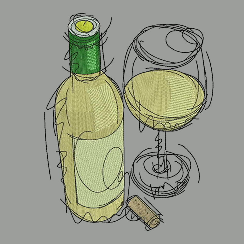 Food & Wine Vector Designs