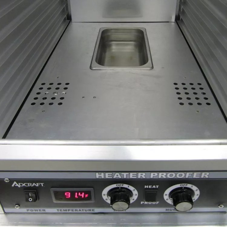 Adcraft PW120 HeaterProofer Cabinet with Control Drawer