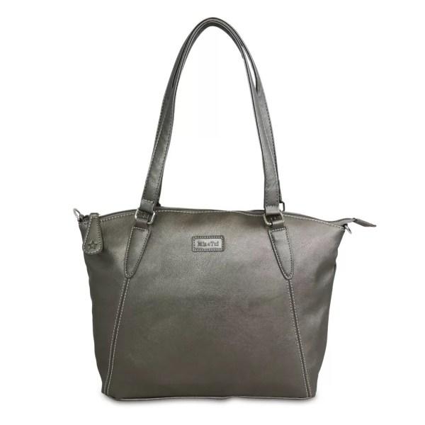 Sam Renke handbag in metallic grey