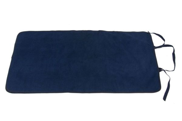 Navy Seenin roll-up portable changing mat for disabled adults and children
