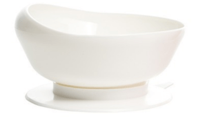 Scoop Bowl in white