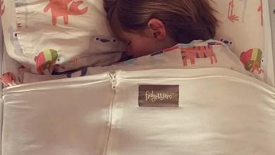 Photo of Fidgetbum – weighted blanket alternative