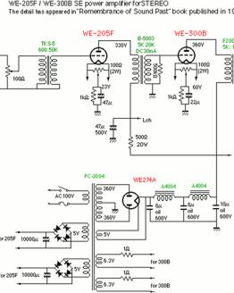 300B circuit