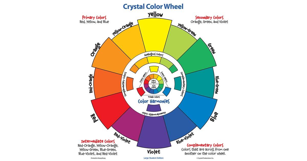 crystal color wheel