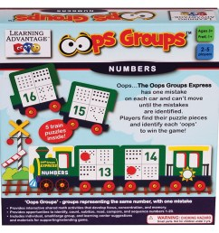 Oops Groups Numbers - CTU2136   Learning Advantage   Math [ 1000 x 1000 Pixel ]