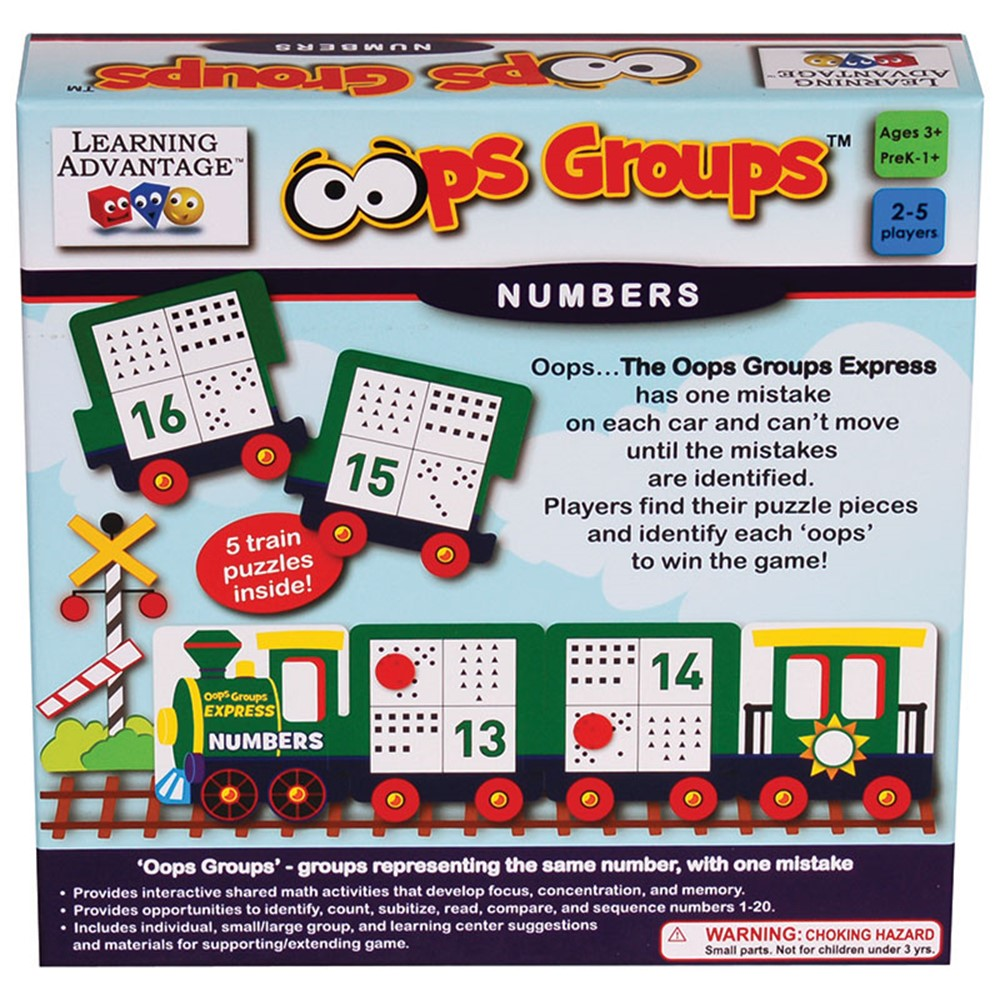 hight resolution of Oops Groups Numbers - CTU2136   Learning Advantage   Math