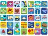 Holidays Special Events Coverups Calendar Ctp6149 Creative Teaching Press