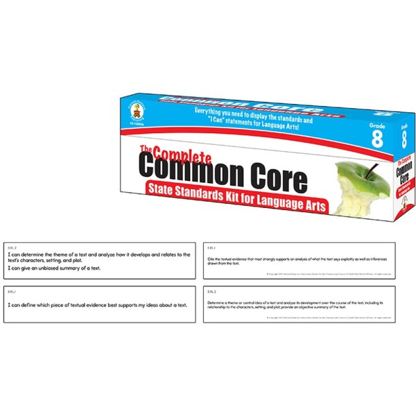 Complete Common Core State Standards Kit Language