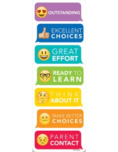 Emoji fun desktop behavior clip charts ctp creative teaching press generalgeneral also rh dkclassroomoutlet