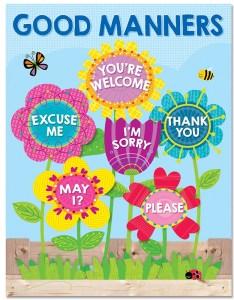 Garden of good manners chart also ctp creative teaching press rh dkclassroomoutlet
