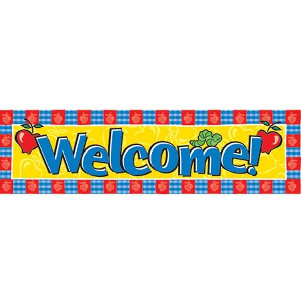Welcome School Banner