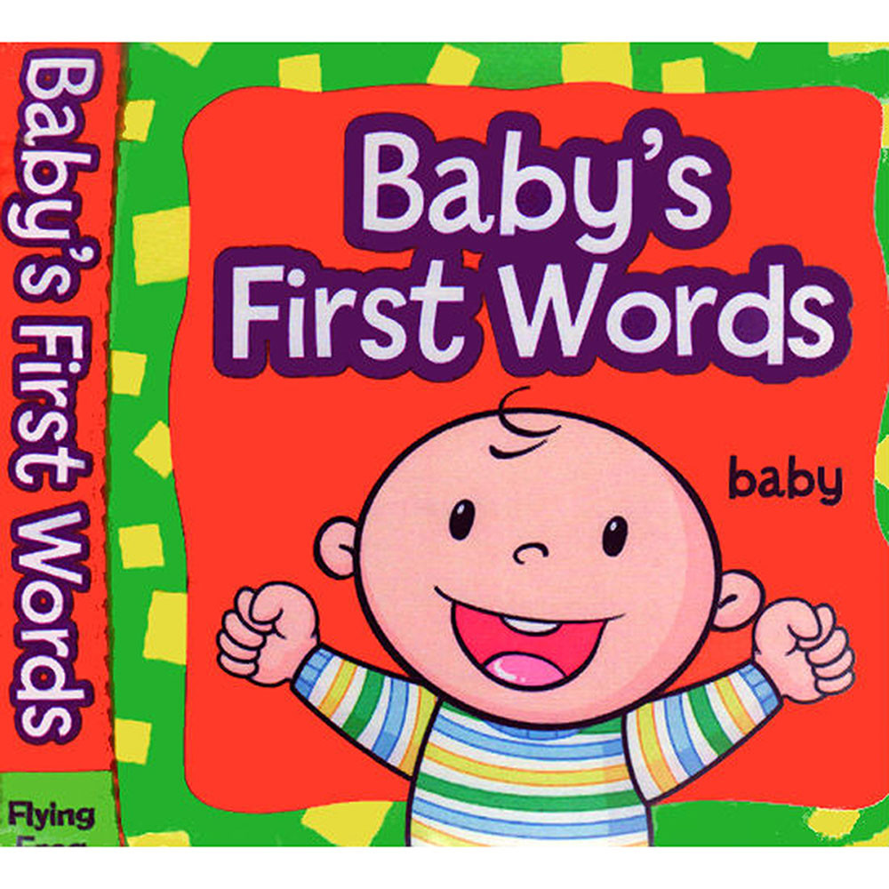 babys first words cloth