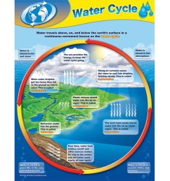 water cycle chart [ 1000 x 1000 Pixel ]