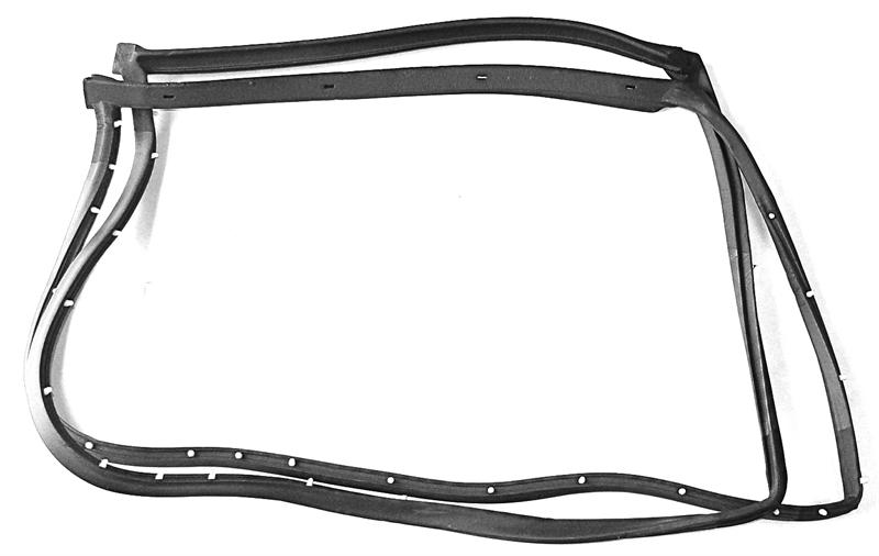 1968-1977 Corvette Early T-Top Weatherstrip Pair with 19