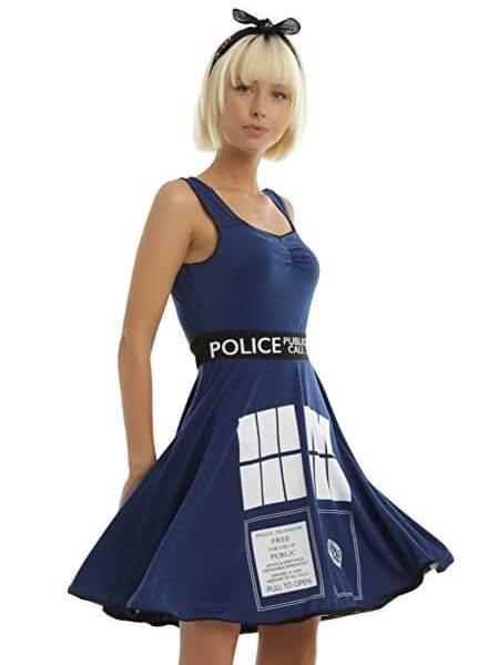 Doctor Who Limited Edition Tardis Costume