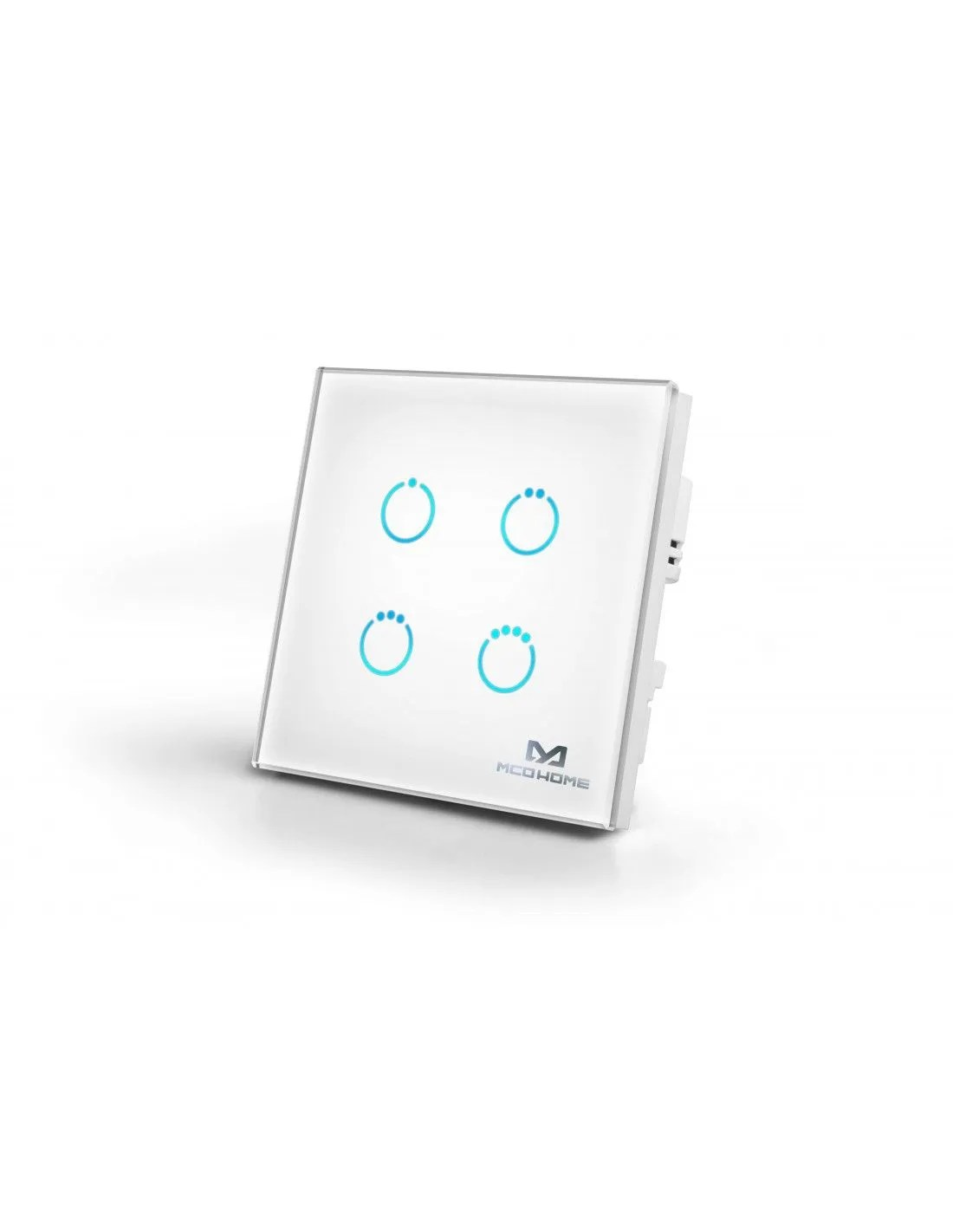 MCO Home - Touch Panel Z-Wave+ 4 Buttons. White (MH-S314-5)