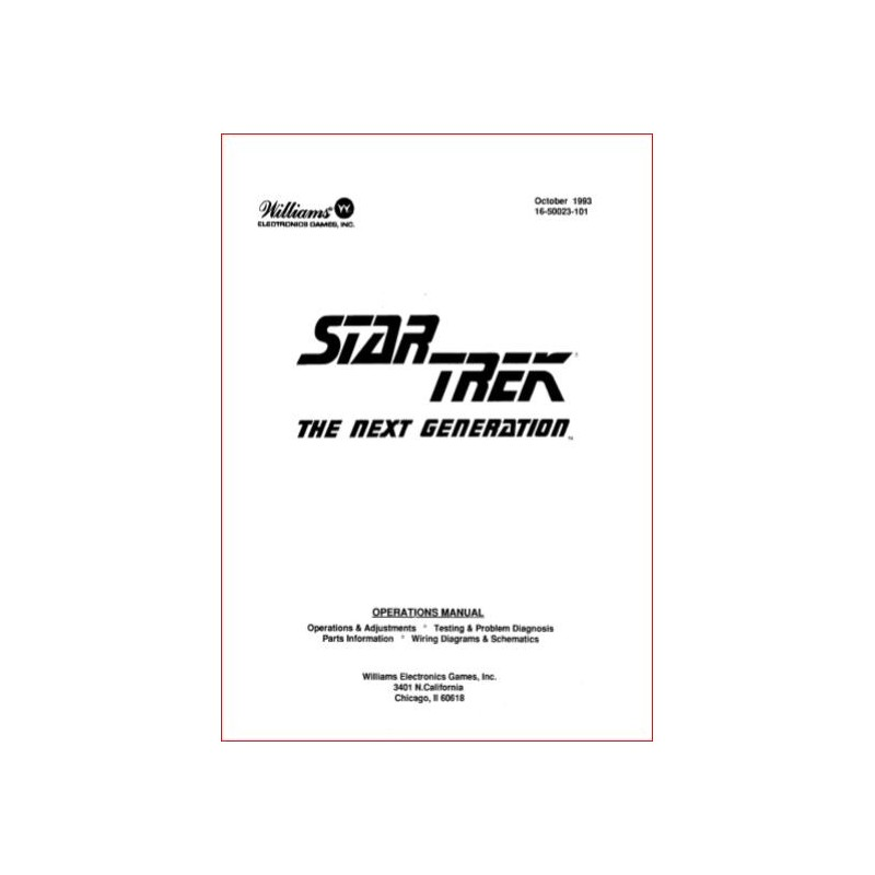 Star Trek TNG Manual