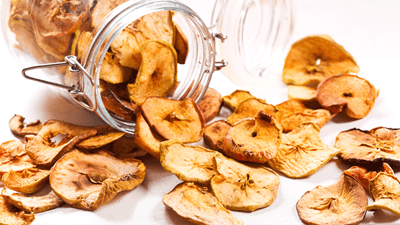 Anti- Inflammatory Snack - Cinnamon Apple Chips